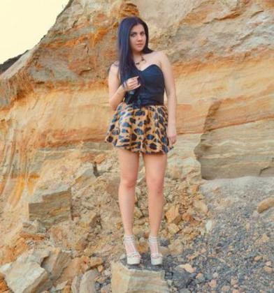Yeşil Gözlü Ukraynalı Kristina